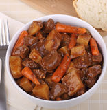 Beef Stew Meal Royalty Free Stock Photography