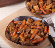 Beef Stew Meal Royalty Free Stock Images