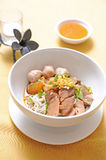 Beef Stew Noodle Soup Royalty Free Stock Images