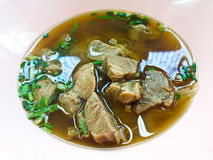 Beef Stew Noodle Soup Royalty Free Stock Image