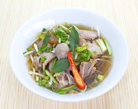 Beef Stew Noodle Soup Royalty Free Stock Photos