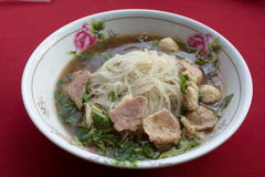 Beef Stew Noodle Soup Stock Photography