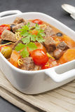 Beef Stew with Olives Royalty Free Stock Image