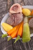 Beef stew, pot-au-feu Royalty Free Stock Image