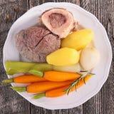 Beef stew, pot-au-feu Stock Image