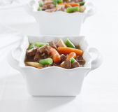 Beef stew pot roast Stock Image