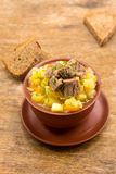 Beef stew with potatoes Stock Photos