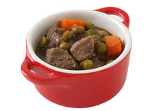 Beef stew in small bowl Royalty Free Stock Photo