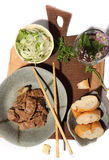 Beef Stew with Tamarind. This is the way Vietnamese cooking. This meal, we use with breads Royalty Free Stock Images