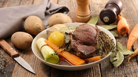 Beef stew and vegetable Royalty Free Stock Photos