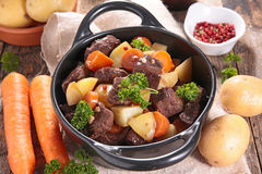 Beef stew and vegetable Stock Photo