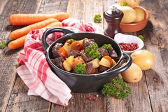 Beef stew and vegetable Royalty Free Stock Photo