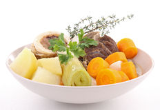 Beef stew and vegetables Stock Photo