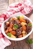 Beef stew and vegetables Stock Photos