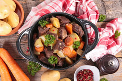 Beef stew Royalty Free Stock Image