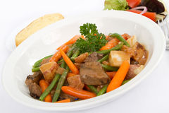 Beef Stew With Vegetables Stock Photography