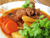 Beef stewed Stock Image