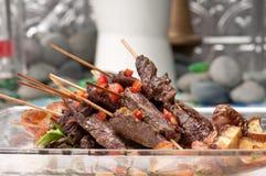 Beef Sticks Stock Image