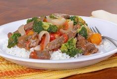Beef Stir Fry Stock Photo