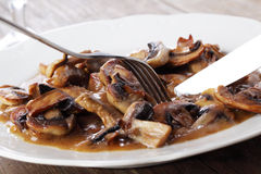 Beef Stroganoff Stock Photography