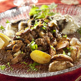 Beef stroganoff Royalty Free Stock Images