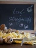 Beef Stroganoff Stock Image