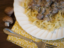 Beef Stroganoff Royalty Free Stock Photography