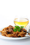 Beef Stroganoff Dinner Royalty Free Stock Image