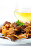 Beef Stroganoff Meal Royalty Free Stock Photo