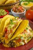 Beef taco dinner Stock Photos