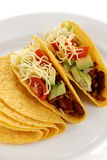 Beef tacos Royalty Free Stock Image