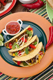 Beef Tacos Stock Images