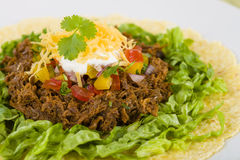 Beef Tacos Royalty Free Stock Images