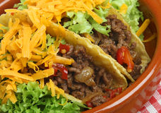 Beef Tacos Stock Image