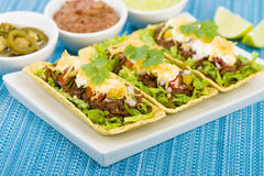Beef Tacos Stock Photography