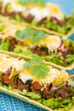 Beef Tacos Royalty Free Stock Photo