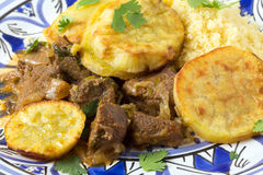 Beef tagine closeup Royalty Free Stock Photography