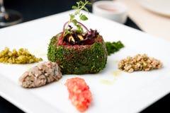 Beef tartar Royalty Free Stock Photos