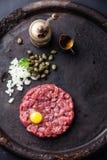 Beef tartar Stock Images