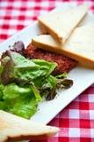 Beef tartar Stock Image