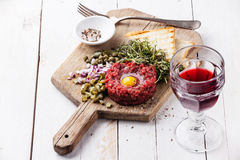 Beef tartare Royalty Free Stock Image