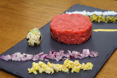 Beef tartare stock photos