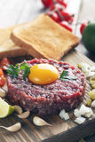 Beef tartare Royalty Free Stock Images