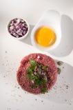 Beef tartare Stock Image