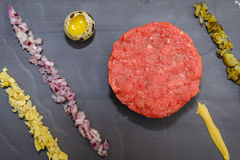 Beef tartare stock photography