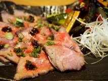 Beef tataki Royalty Free Stock Photo