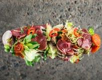 Beef tataki salad Stock Photo