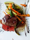 Beef tenderloin from Ibiza stock images