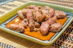 Beef teppanyaki Stock Image