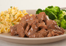 Beef Tips Stock Photography